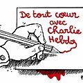 Charlie : hommages des dessinateurs