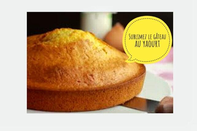 logo sublimez le gâteau au yaourt