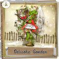 Delicate garden de fanette @digital-crea