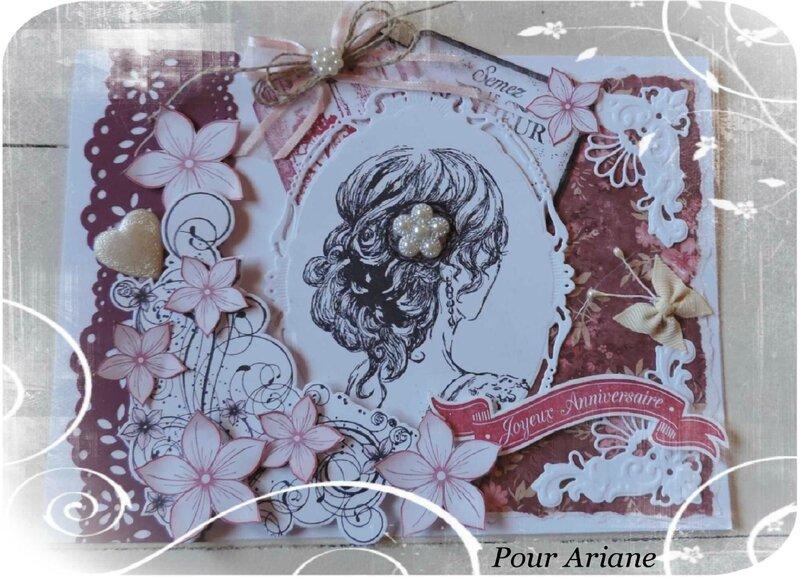 Pour Ariane mon Joli Papillon * Juin 2015
