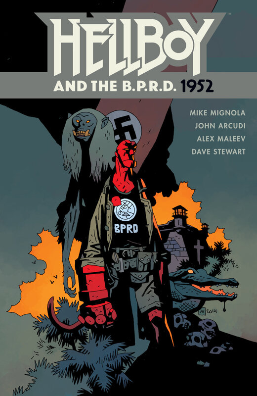 dark horse hellboy and the BPRD 1952 TPB
