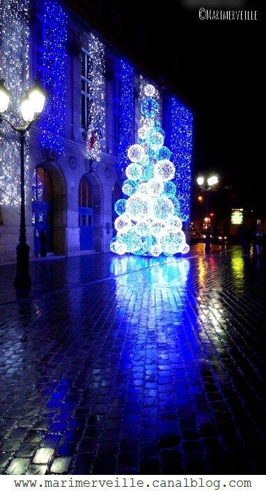 Paris en bleu- illuminations- Marimerveille