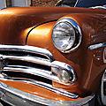 Béthune rétro 2018 - and now something different.. a 1950 dodge wayfarer business coupe kustom car!