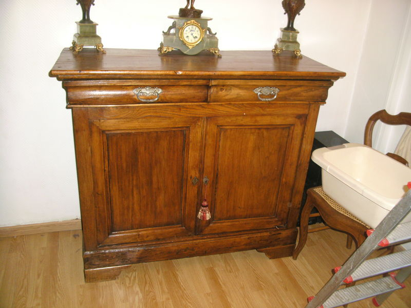 buffet bas louis philippe antiquites brocantes lazzarini. Black Bedroom Furniture Sets. Home Design Ideas