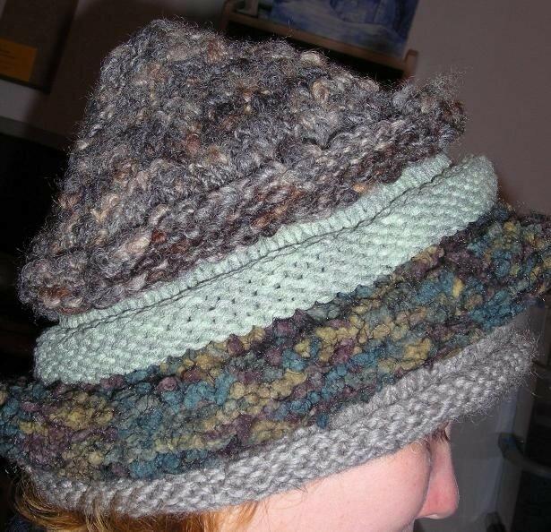 Bonnet inspiré Mandchourie de ELLE TRICOTE