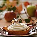 Tartelettes aux pommes sirop d'érable et