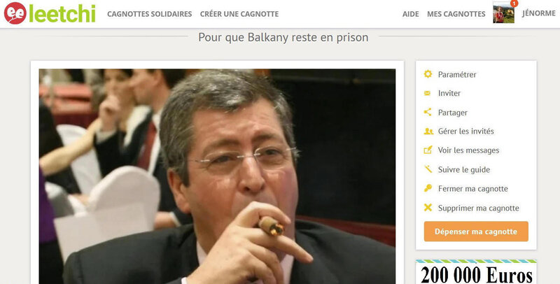 Cagnotte balkany