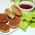 Nuggets végétariens & sauce bbq