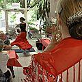 Kermesse à la maison de retraite