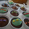 Dino / dragon muffins, bataille food #68