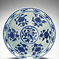 Bowl with six-foliate rim, Ming dynasty (1368-1644), Reign of the Xuande emperor (1426-1435