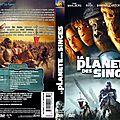 Jaquette La Planète des Singes (2001)