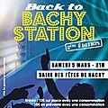 Bachy station - 05/03/2016