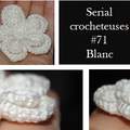 Serial crocheteuses 71 - blanc