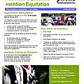 Formation bpjeps activités equestres mention equitation