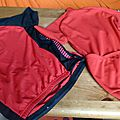 Occasion - maillots, cuissard, gants
