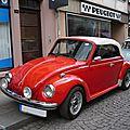 VOLKSWAGEN Coccinelle VW 1303 S cabriolet Molsheim (1)