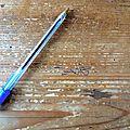La prochaine fois je rangerai mon stylo