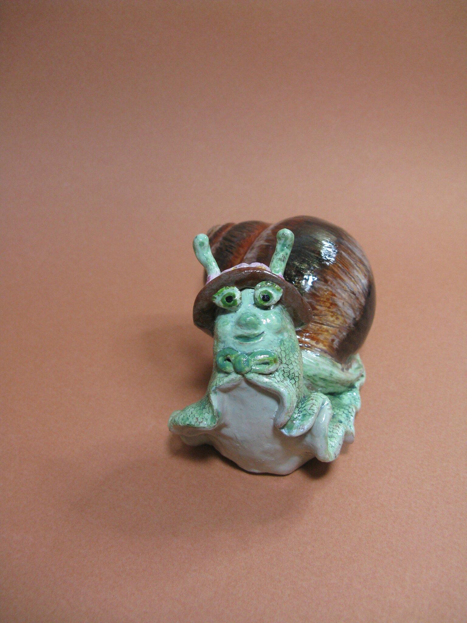 Gastounette, la petite escargotte