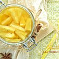 Pickles d'ananas {vanille & piment}