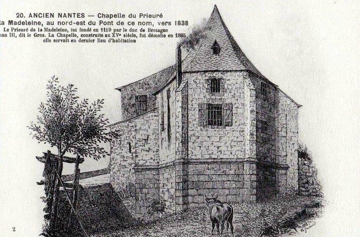 Ancien Nantes - Chapelle du Prieuré La Madeleine