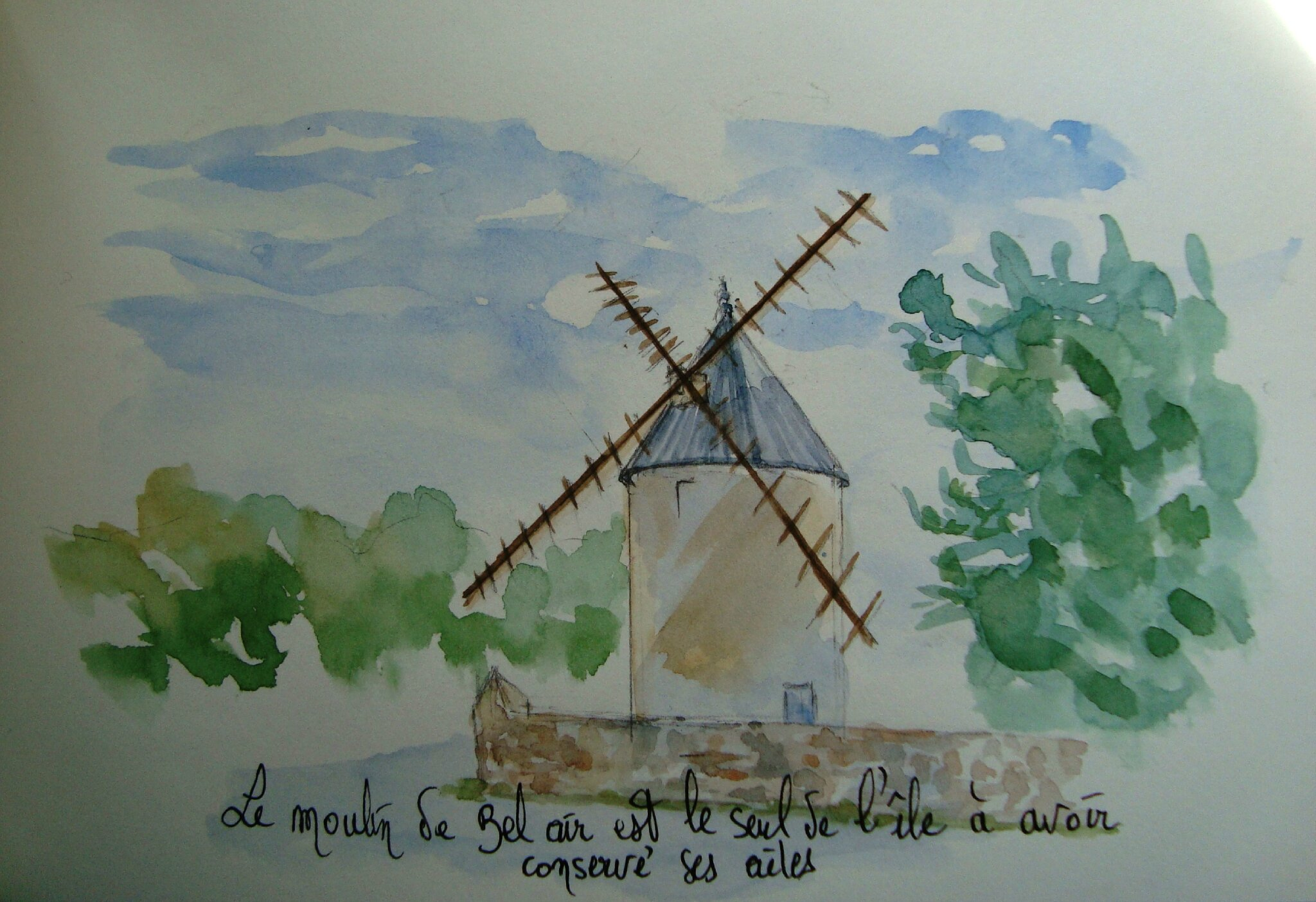 75 Le moulin e Bel Air