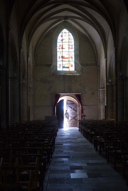 porte eglise de Saint Marcouf Manche - 1