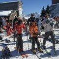 la petite famille repart skier