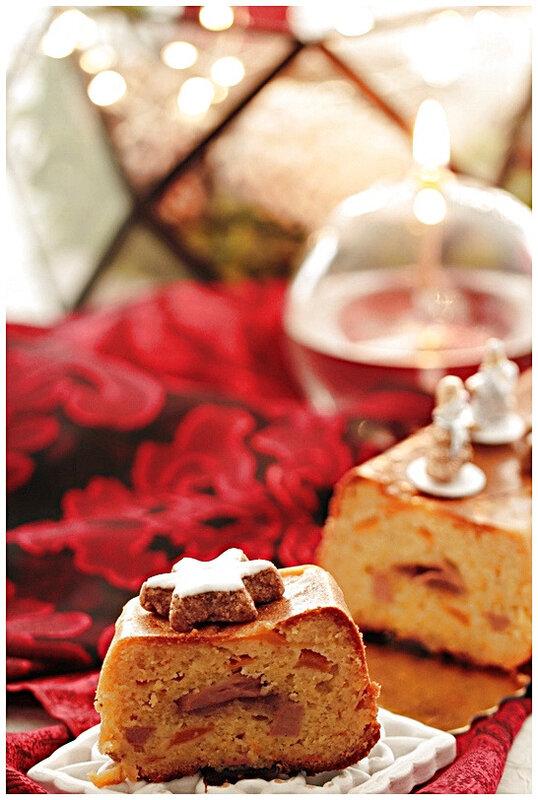cake-foie gras-mangue-chutney-omnicuiseur-recette-fete-bassetempérature-vapeur