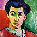 Portraits, autoportraits / zones de couleur / matisse