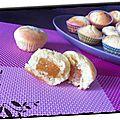 Mini cakes moelleux coeurs de fruits