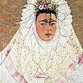Auoportrait de Frida Kahlo et Diego-1943
