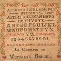 Marquoir victorine berger 1897, c'est reparti!