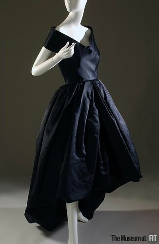 Cristobal Balenciaga, Evening dress, Fall 1957