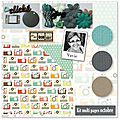 Kit multi*pages du mois d'octobre de vavie