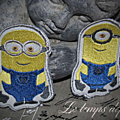 Minions version patchs autocollants