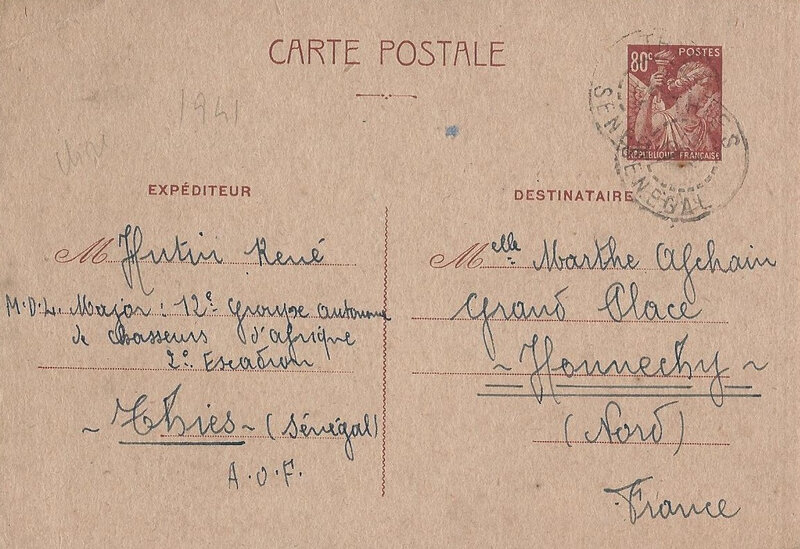 carte postale Thies 12RCA