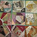 Inscription au crazy quilt journal project 2013