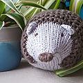 Hérissons en tricot