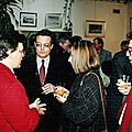 avec JP.Becquet maire Auvers sur Oise mars 1993