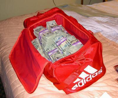 sac d 'argent