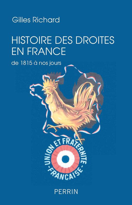 Gilles Richard_Histoire des droites en France_livre_2018
