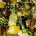 Tagine de légumes aux citrons confits et olives