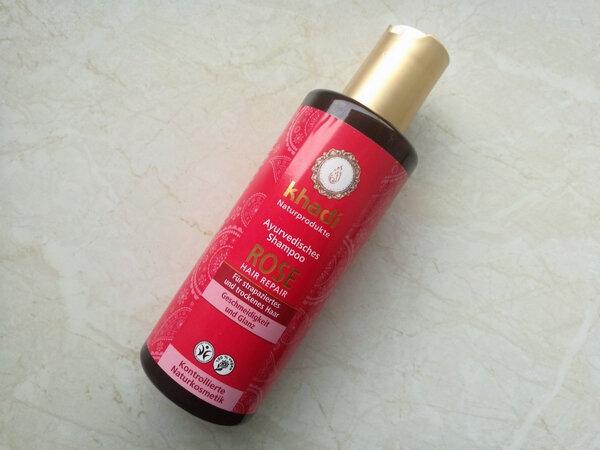 Shampooing Ayurvédique Réparateur - Rose de Khadi la princesse affreuse (1)