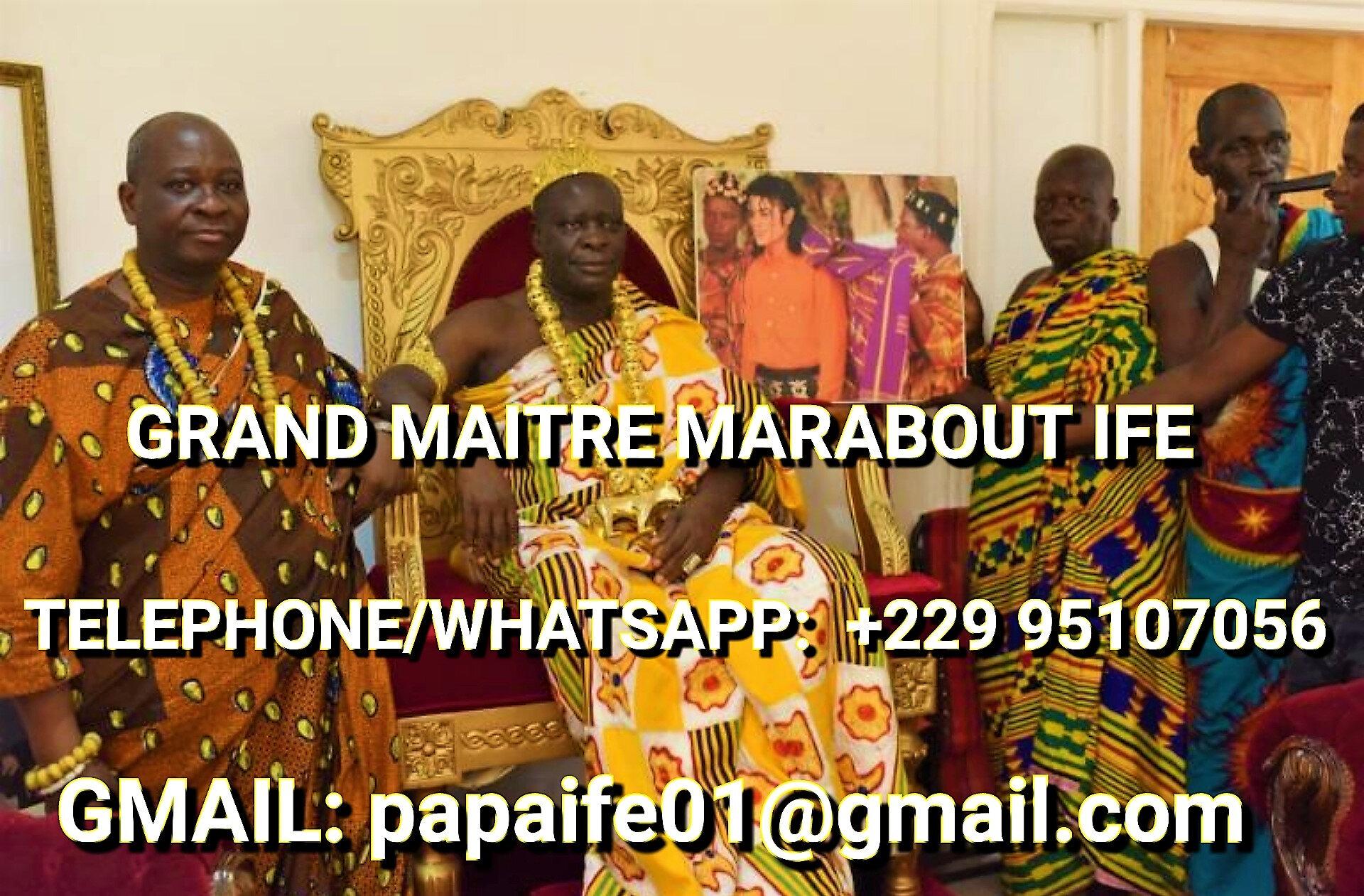 LE PLUS PUISSANT MAITRE MARABOUT PAPA IFE