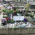 Légère insursion au cimetière montparnasse