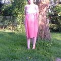 Une robe de grossesse