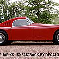 fastback marc-gordon-jaguar xk 150,jaguar xk 150 roadster,jaguar xk 150 ots,jaguar xk,decatoire