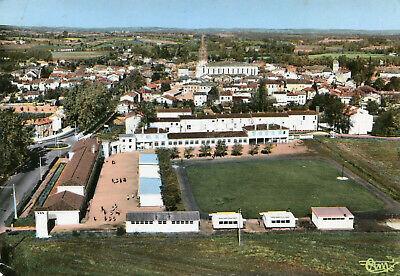 Carte-CAUSSADE-Vue-générale-aérienne-et-le-collège