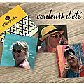collage couleurs ete